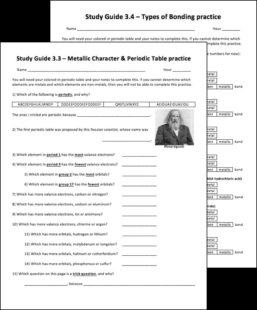 Quiz 3.3 & Quiz 3.4 study guide help videos